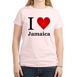 I Love Jamaica Women's Light T-Shirt
