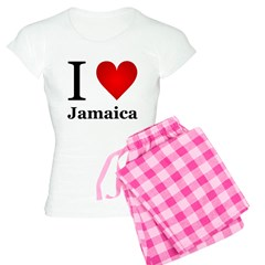 I Love Jamaica Women's Light Pajamas