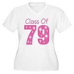 Class of 1979 Women's Plus Size V-Neck T-Shirt