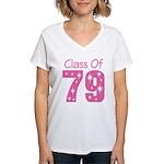 Class of 1979 Women's V-Neck T-Shirt