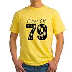 Class of 1979 Yellow T-Shirt