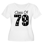 Class of 1979 Women's Plus Size Scoop Neck T-Shirt