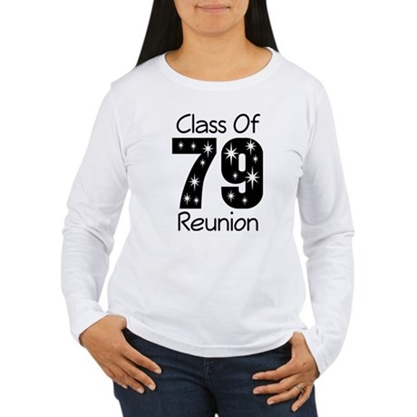Class of 1979 Reunion Women's Long Sleeve T-Shirt