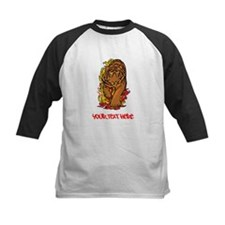 Tiger, Flames and Red Text. Tee