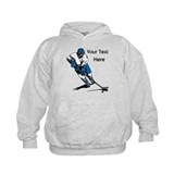 Icy Hockey. With Your Text. Hoodie