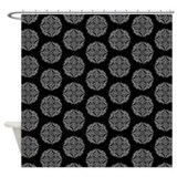 Celtic Mandala Damask Shower Curtain