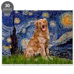 Starry Night Golden Puzzle