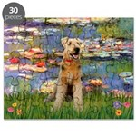 Lilies#2 & Airedale (S) Puzzle