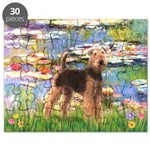 Lilies#2 - Airedale #6 Puzzle