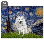 Starry-Am. Eskimo Dog Puzzle