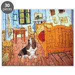 Van Gogh's Room & Basset Puzzle