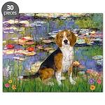 Lilies (#2) - Beagle #7 Puzzle