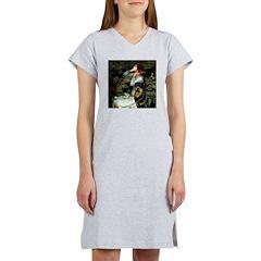 Ophelia/Rottweiler Women's Nightshirt