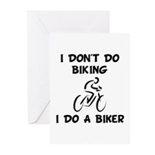 Do A Biker Greeting Cards (Pk of 10)