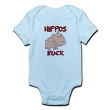 Hippos Rock Infant Bodysuit