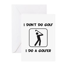 Do A Golfer Greeting Cards (Pk of 10)
