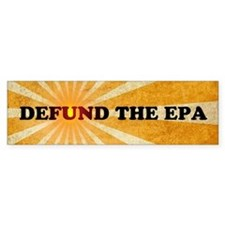 Defund The EPA Car Sticker
