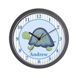 Reef Turtle Wall Clock - Andrew