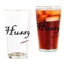 Hussy Drinking Glass