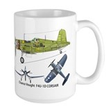 Corsair f4u Large Mug (15 oz)