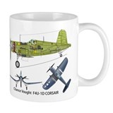 F4U CorF4U Corsair Pappy Boyington Black Sheep Mug