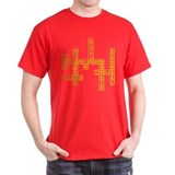 Sheridan Scrabble Red T-Shirt
