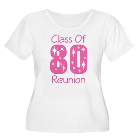 Class of 1980 Reunion Women's Plus Size Scoop Neck