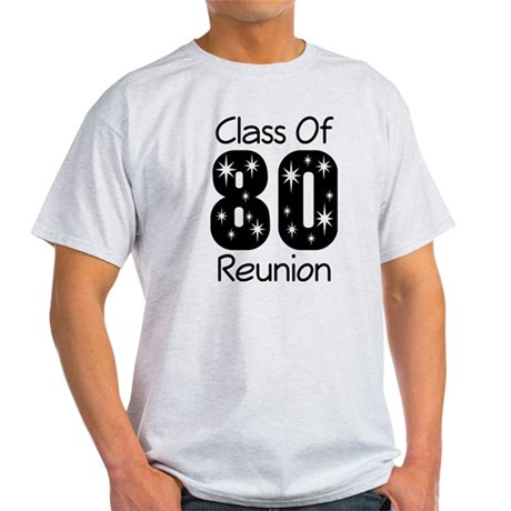 Class of 1980 Reunion Light T-Shirt