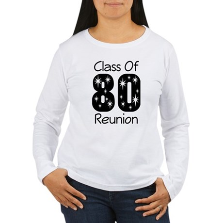 Class of 1980 Reunion Women's Long Sleeve T-Shirt