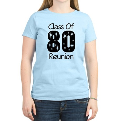 Class of 1980 Reunion Women's Light T-Shirt
