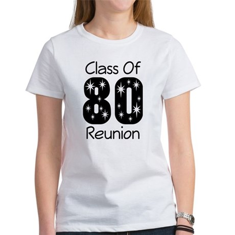 Class of 1980 Reunion Women's T-Shirt