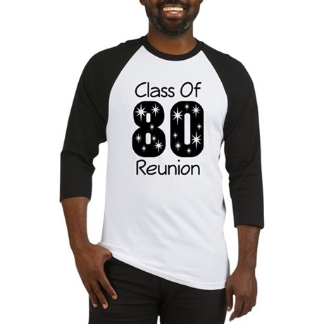 Class of 1980 Reunion Baseball Jersey