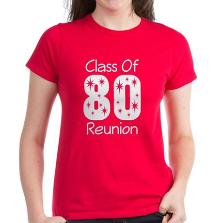 Class of 1980 Reunion Women's Dark T-Shirt