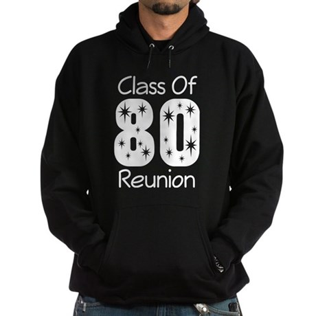 Class of 1980 Reunion Hoodie (dark)