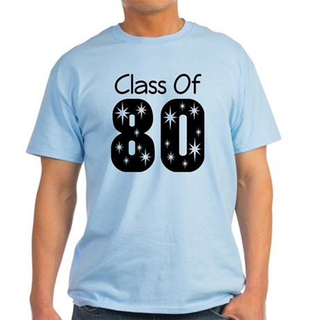 Class of 1980 Light T-Shirt