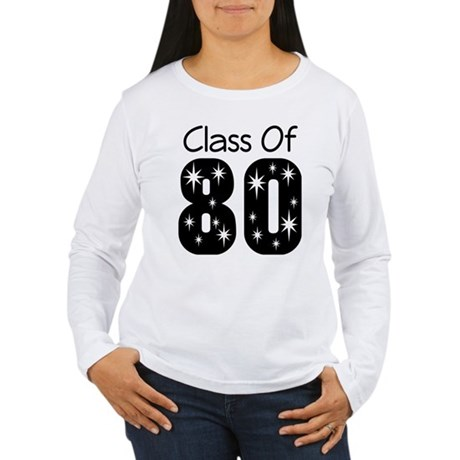 Class of 1980 Women's Long Sleeve T-Shirt