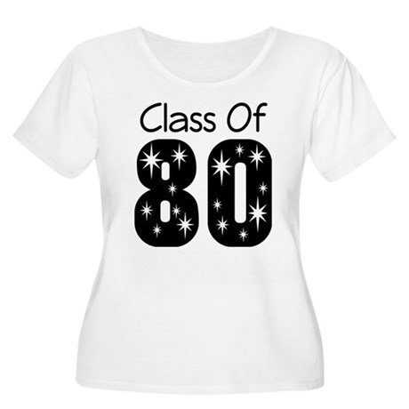 Class of 1980 Women's Plus Size Scoop Neck T-Shirt