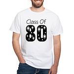 Class of 1980 White T-Shirt