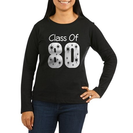 Class of 1980 Women's Long Sleeve Dark T-Shirt