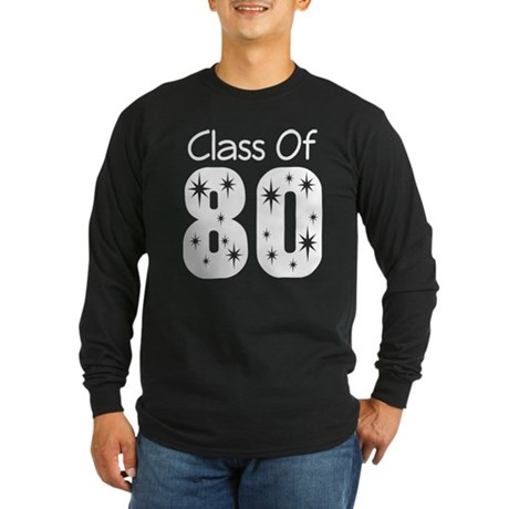 Class of 1980 Long Sleeve Dark T-Shirt