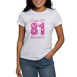 Class of 1981 Reunion Women's T-Shirt