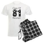 Class of 1981 Reunion Men's Light Pajamas