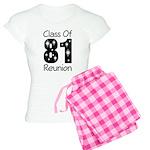 Class of 1981 Reunion Women's Light Pajamas