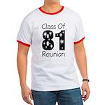 Class of 1981 Reunion Ringer T