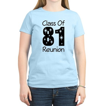 Class of 1981 Reunion Women's Light T-Shirt