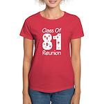 Class of 1981 Reunion Women's Dark T-Shirt