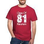 Class of 1981 Reunion Dark T-Shirt