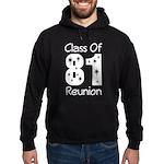 Class of 1981 Reunion Hoodie (dark)