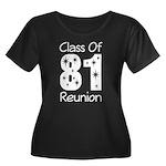 Class of 1981 Reunion Women's Plus Size Scoop Neck