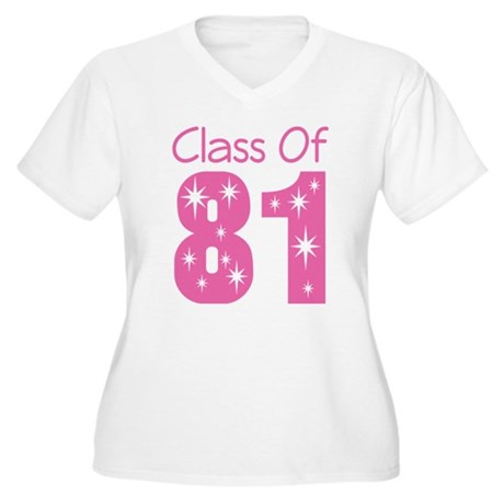 Class of 1981 Women's Plus Size V-Neck T-Shirt